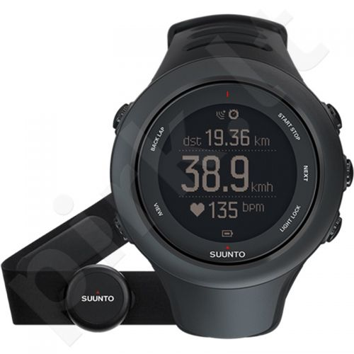 Vyriškas laikrodis SUUNTO AMBIT3 SPORT Black HR