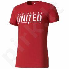 Marškinėliai Adidas Manchester United FC Graphic Tee Better M AZ9846