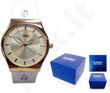 Laikrodis Q&Q FASHION moteriškas GLAM ROSE GOLD Q&Q FASHION moteriškas CLASSIC SILVER NEUTRAL BOX Q350J101Y