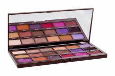 Makeup Revolution London I Heart Makeup, I Heart Chocolate Violet Palette, akių šešėliai moterims, 20,2g