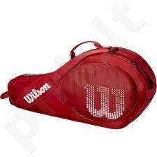 Krepšys tenisui Wilson Junior 3 Pack RDWH WRZ647903