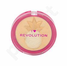 Makeup Revolution London I Heart Revolution, Fruity Highlighter, skaistinanti priemonė moterims, 9,15g, (Pineapple)