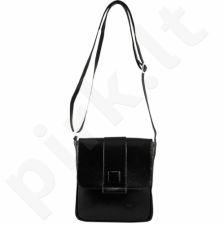 DAN-A T123A juoda rankinė iš natūralios odos , moteriška