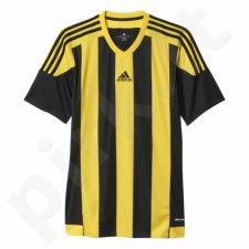 Marškinėliai futbolui Adidas Striped 15 Junior S16143