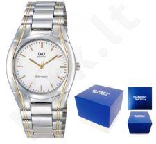 Laikrodis Q&Q FASHION moteriškas CLASSIC SILVER&GOLD Q&Q FASHION moteriškas CLASSIC SILVER NEUTRAL BOX VL48-401