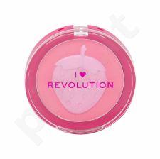 Makeup Revolution London I Heart Revolution, Fruity Blusher, skaistalai moterims, 10,25g, (Strawberry)