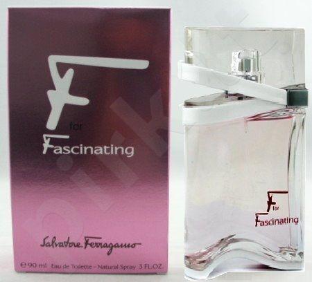 Salvatore Ferragamo F for Fascinating, tualetinis vanduo (EDT) moterims, 90 ml
