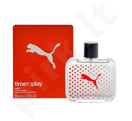 Puma Time to Play Man, tualetinis vanduo vyrams, 90ml