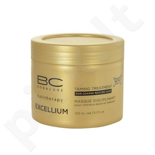 Schwarzkopf BC Bonacure Excellium Taming Treatment, kosmetika moterims, 150ml