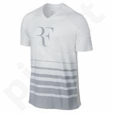 Marškinėliai Nike Federer V-Neck Tee M 777865-100