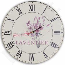 Sieninis laikrodis Lavender 107891