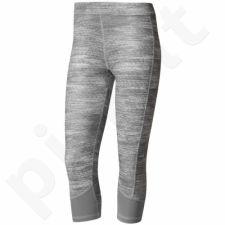 Sportinės kelnės Adidas 3/4 Techfit Capri Printed Heather W BK6113