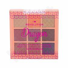 Makeup Revolution London I Heart Revolution, Fantasy Makeup Pigment, akių šešėliai moterims, 7,2g, (Dragon)