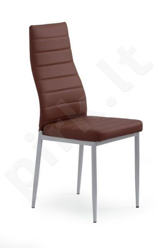 Kėdė K70, tamsiai rudos sp.
