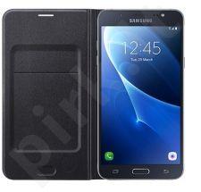 Samsung Galaxy J7(2016) atverčiamas dėklas juodas