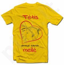 """Marškinėliai """"Pirmoji dukros meilė"""""""