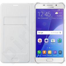Samsung Galaxy J7(2016) atverčiamas dėklas baltas