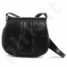 DAN-A T38 juoda rankinė iš natūralios odos , moteriška
