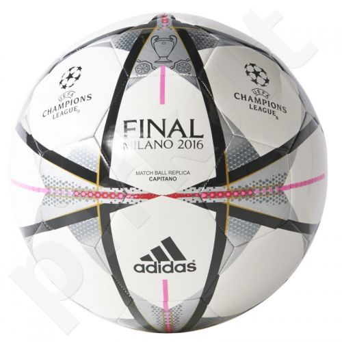 Futbolo kamuolys Adidas Finale Milano Capitano AC5488