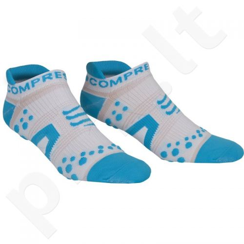 Kojinės Compressport Racing Socks V2 Run RSLV2-00BL