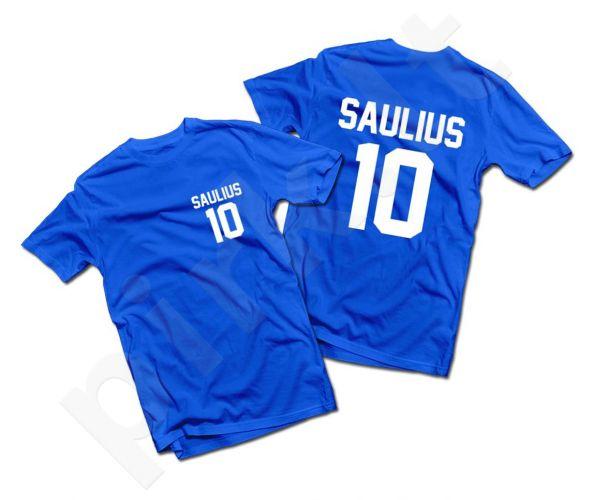 Marškinėliai su Jūsų pasirinktu vardu ir numeriu