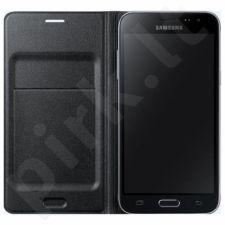 Samsung Galaxy J5(2016) atverčiamas dėklas juodas