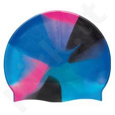 Kepuraitė plauk. unisex silik. 7391 699 blue/multi