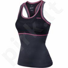 Marškinėliai tenisui Head Vision Berry Tank Top  W 814346 juoda