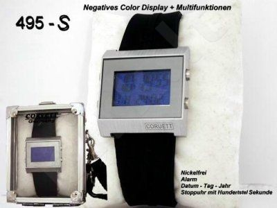 Vyriškas laikrodis Corvett CVT-495 su defektu