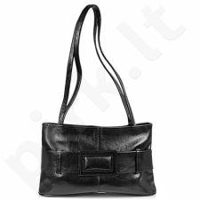 DAN-A T45 juoda rankinė iš natūralios odos , moteriška