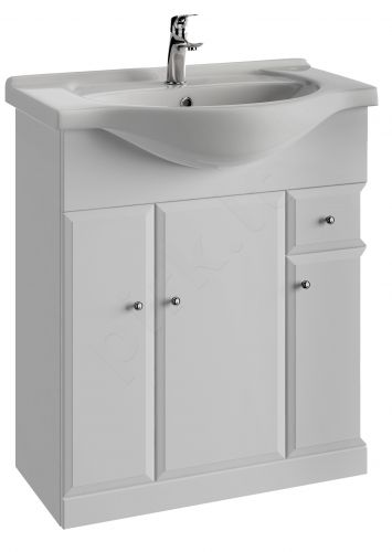 Vonios kambario spintelė su praustuvu 7501 D75