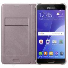 Samsung Galaxy J1(2016) atverčiamas dėklas auksinis