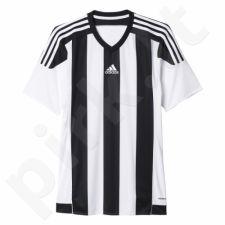 Marškinėliai futbolui Adidas Striped 15 Junior M62777