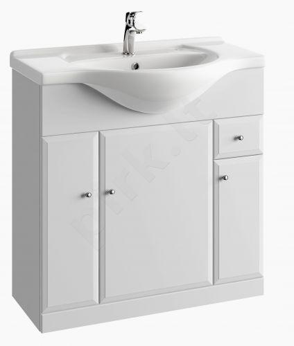 Vonios kambario spintelė su praustuvu 8501 D85