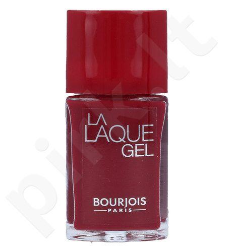 BOURJOIS Paris La Laque gelis nagų lakas, kosmetika moterims, 10ml, (8 Cherry D´Amour)