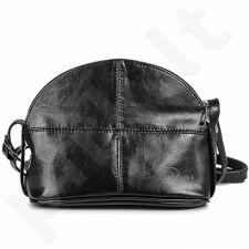 DAN-A T97 juoda rankinė iš natūralios odos , moteriška