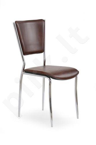Kėdė K72C, tamsiai rudos sp.