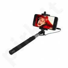 ART SELFIE STICK wired KS10A ART-OEM black