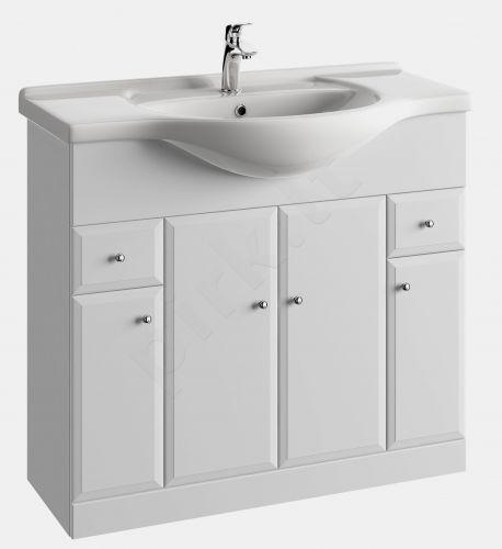 Vonios kambario spintelė su praustuvu 9501 D95