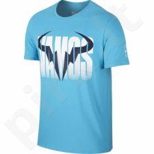 Marškinėliai tenisui Nike Rafa Short Sleeve Crew Tee M 850860-418