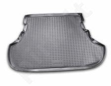 Guminis bagažinės kilimėlis MITSUBISHI Lancer sedan 2010-2016 black /N27015