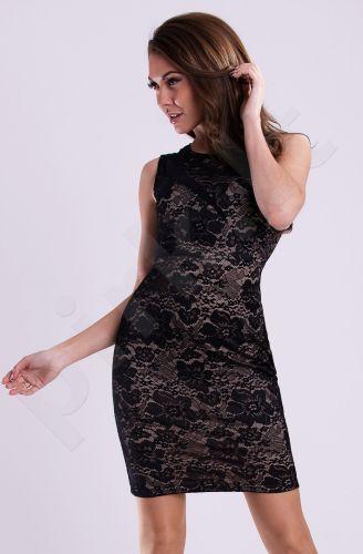 Emamoda suknelė - kreminė 12010-4