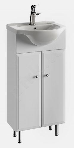 Vonios kambario spintelė su praustuvu 4002 D40 koj.