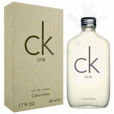 Calvin Klein One, tualetinis vanduo (EDT) moterims ir vyrams, 50 ml