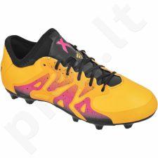 Futbolo bateliai Adidas  X 15.1 FG/AG Jr S74615