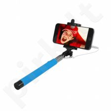 ART SELFIE STICK wired KS10A ART-OEM blue