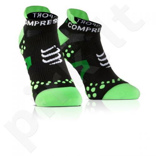 Kojinės Compressport Racing Socks V2 Run RSLV2-99GR
