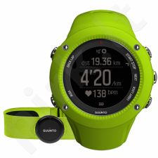 Universalus laikrodis SUUNTO AMBIT3 RUN Lime HR