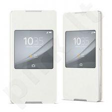 Sony Xperia Z3+ Style-UP dėklas SCR30 baltas