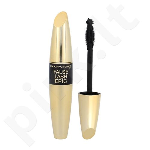 Max Factor False Lash Epic blakstienų tušas, kosmetika moterims, 13,1ml, (Black)
